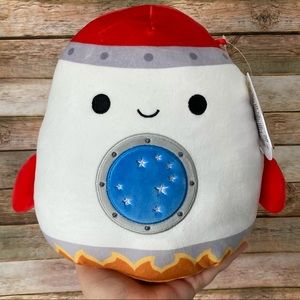 Squishmallow Rudy the Rocket Space Collection NEW